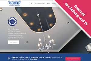 PLAMECO Decken Siegen Website
